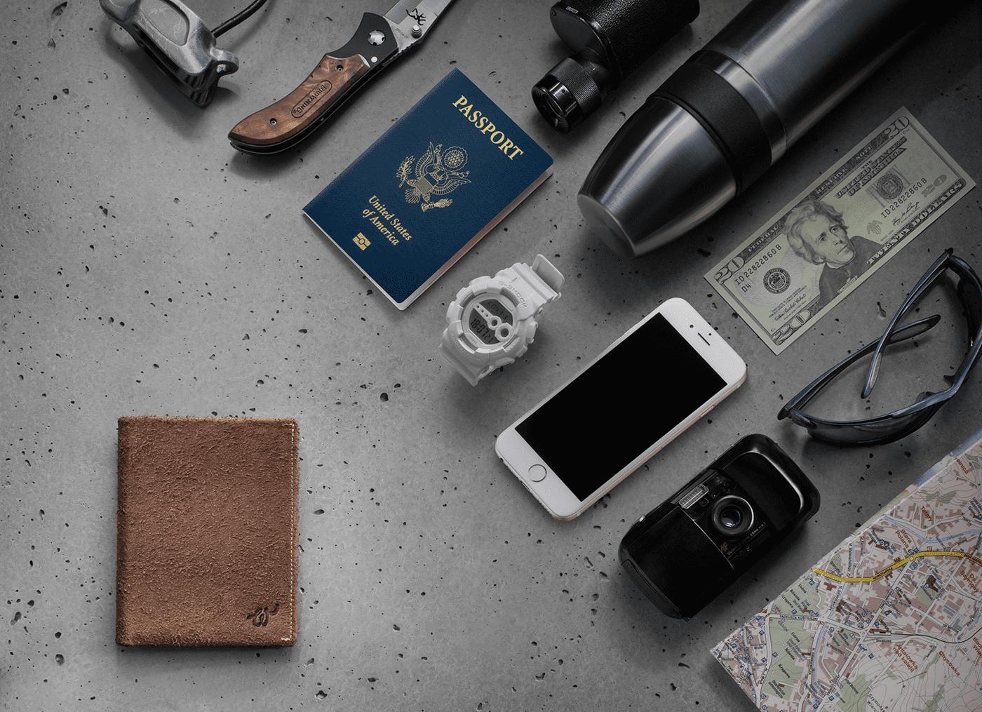 GPS wallet