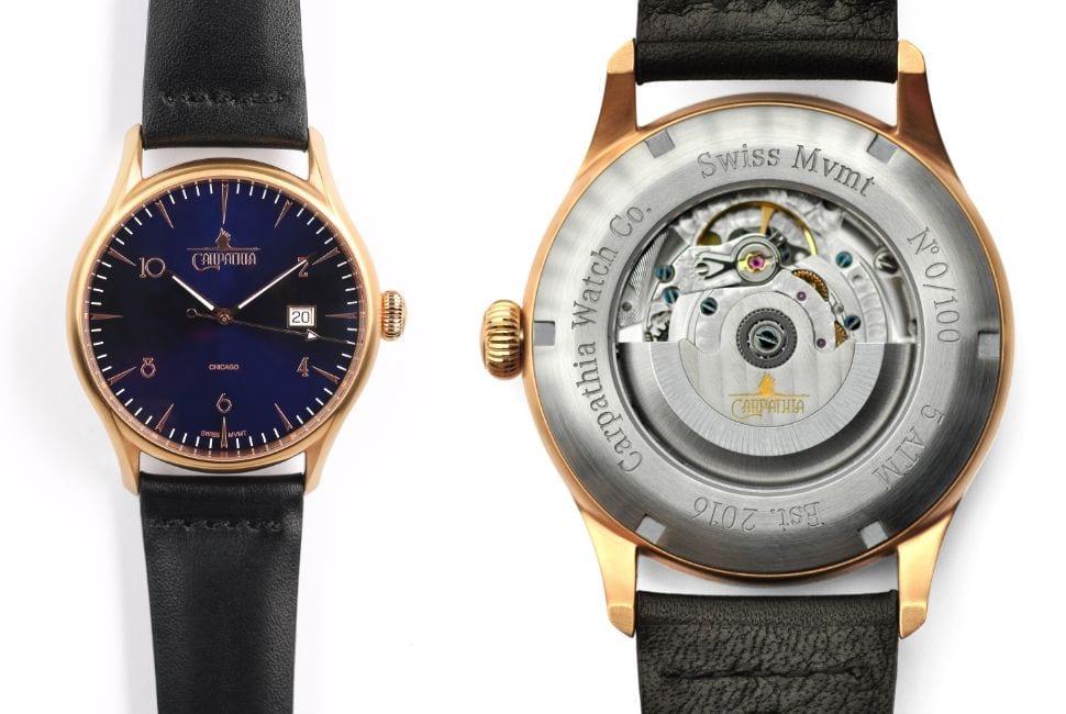 Carpathia Ascent wristwatch