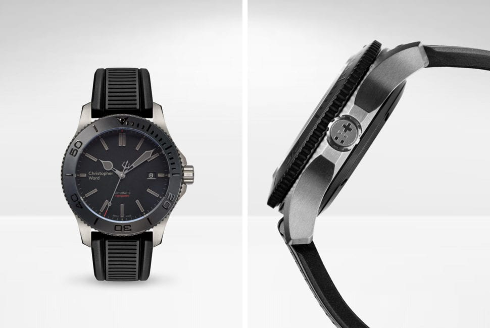 Christopher Ward Trident C60 Titanium Pro wristwatch